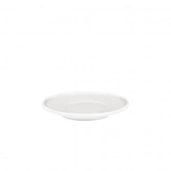 Alessi Set 4pz Sottotazza da caffè in porcellana PlateBowlCup Bianco    AJM28/77