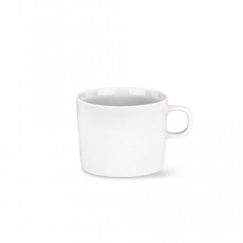 Alessi Set 4pz Tazze da tè in porcellana PlateBowlCup Bianco    AJM28/78