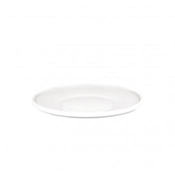 Alessi Set 4pz Sottotazza da tè in porcellana PlateBowlCup Bianco    AJM28/79