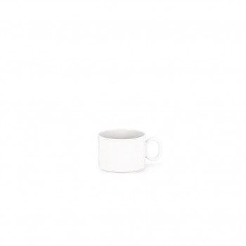 Alessi Tazza da tè Set 4pz Dressed Bianco    MW01/78