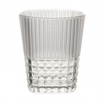 Baci Milano Set 6pz Bicchieri per acqua in stile moderno Chic&Zen-Table Trasparente    ZGWA.ZEN01