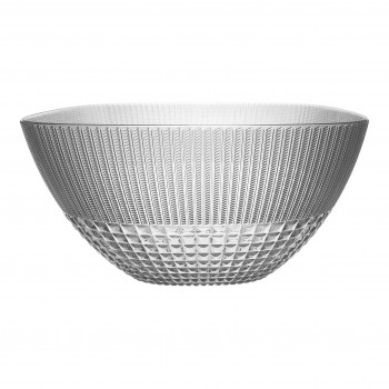 Baci Milano Insalatiera in stile moderno Chic&Zen-Table Trasparente    ZSAL.ZEN01