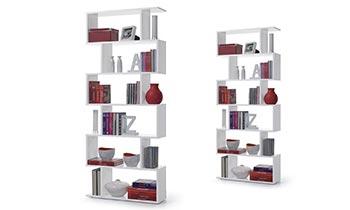 Librerie di design in legno massello