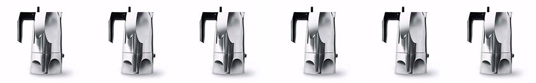 Caffettiere Moka in Alluminio