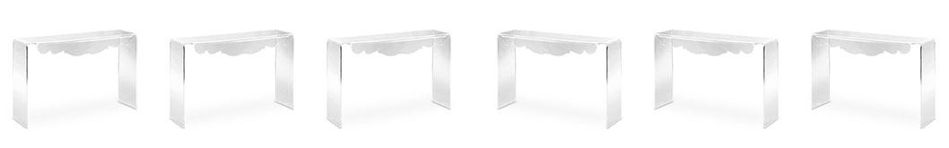Consolle per ingresso in Plexiglass