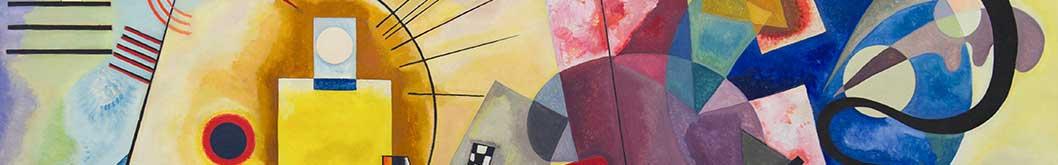 Quadri moderni dipinti su tela a mano