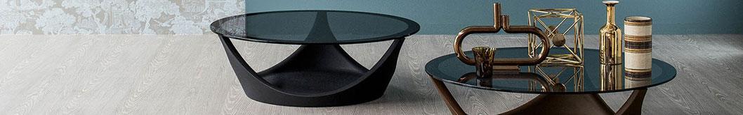 Tavolini da salotto in metallo